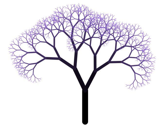 albero frattale